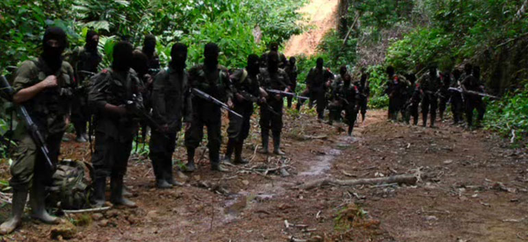 ELN guerrillas