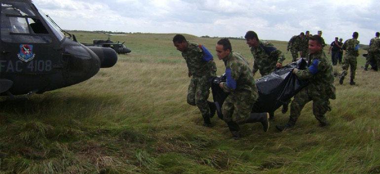 Colombia combat kills