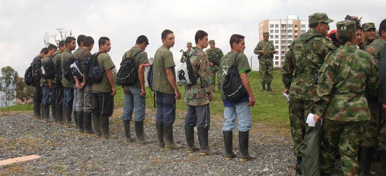 Demobilized FARC guerrillas