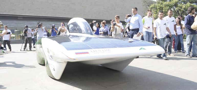 Colombia solar car