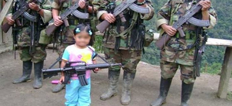 FARC child soldier Colombia