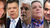 Colombia 2014 presidential election candidates