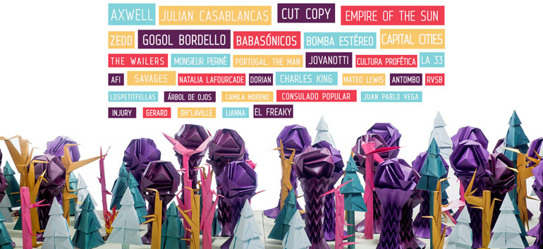 Festival Estereo Picnic Bogota 2014