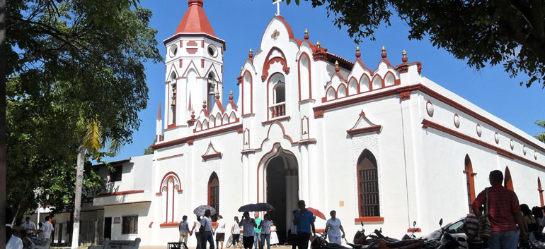 Aracataca church