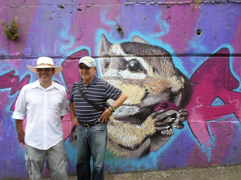 Comuna 13 tour guides (Photo: Matt hew Sterne)