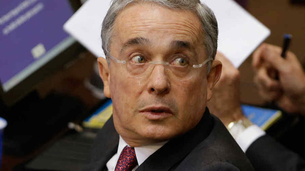 Alvaro Uribe (Image credit: The Associated Press)
