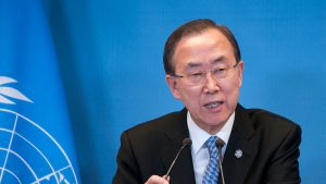 Ban Ki-moon (Image credit: Dutch Ministry of Foreign Affairs)
