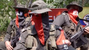ELN guerrillas (Image credit: YouTube)