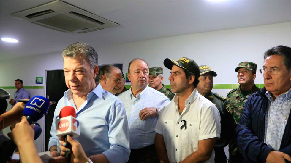 Colombia suspends ELN talks