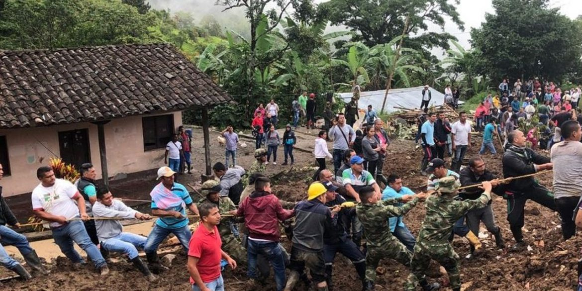 17 killed, 13 missing after mudslide in Colombia